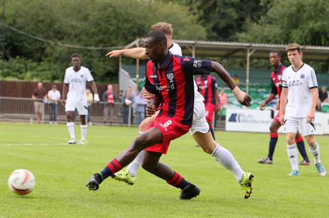 Good start: Harold Odametey has got his Hampton career off to a good start  during pre-season