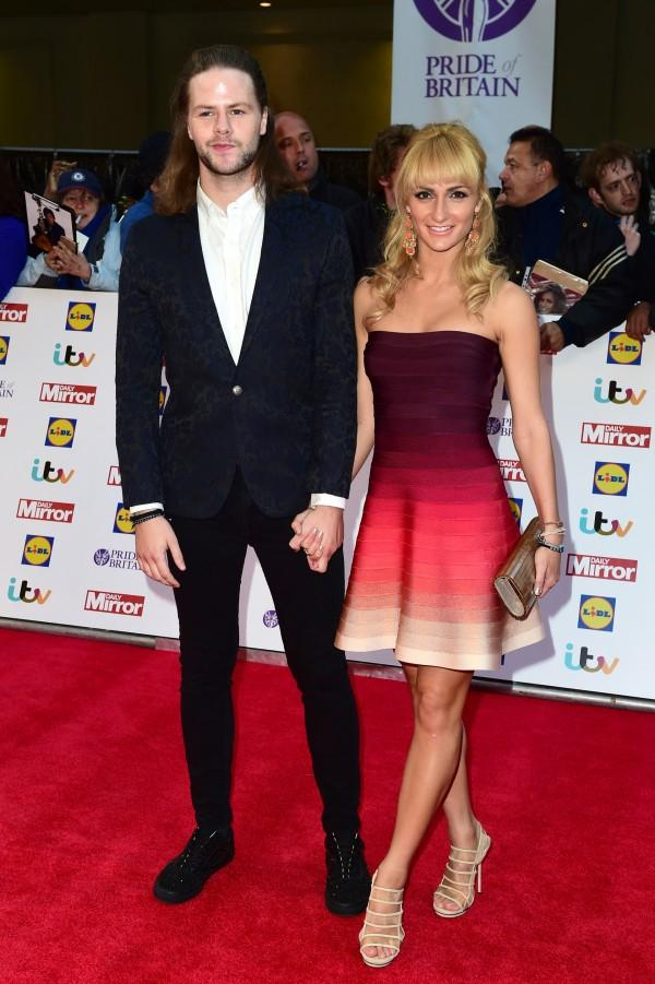 Jay McGuiness and Aliona Valani. Picture by Ian West/PA