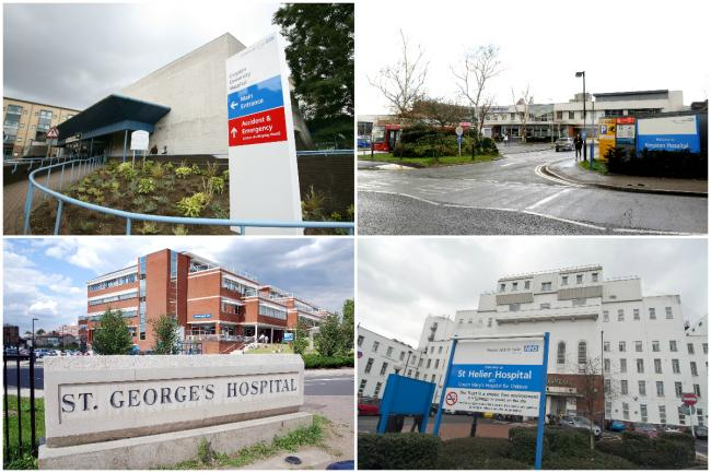 At least one of the hospitals in Croydon, Kingston, Epsom, Tooting and St Helier could lose their acute