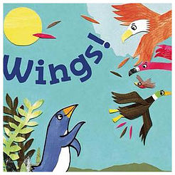 Paul Stewart & Jane Porter: 'Wings!' storytime and activities