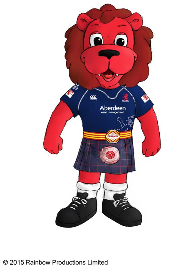 Could you be the new Mac the Lion mascot for London Scottish rugby club?