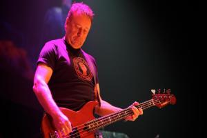 Peter Hook hails Manchester's spirit as he tells of 'alarming' call from daughter at gig