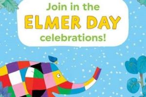 Richmond Libraries are celebrating Elmer Day