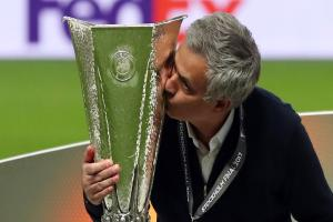 Jose Mourinho leads Manchester United to emotional Europa League victory