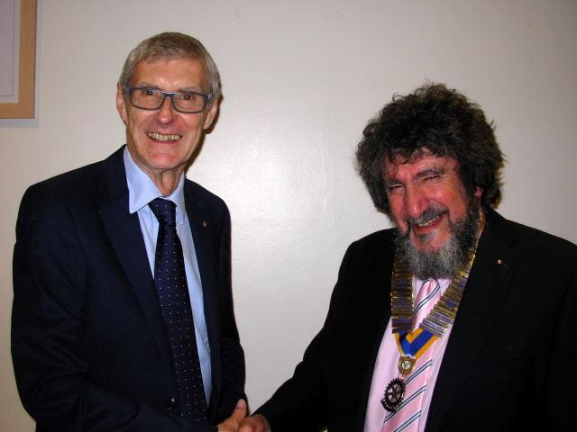 The Rotary Club of Twickenham Upon Thames announces new Club President as Rtn Ian Cave