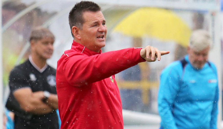 Sutton United manager Paul Doswell was frustrated at the manner in which his side was knocked out of the FA Trophy at Bromley last Saturday. Picture: Paul Loughlin