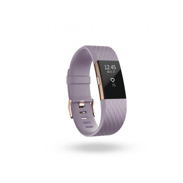 Richmond and Twickenham Times: Fitbit Charge 2 Rose Gold