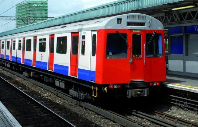 Severe delays on the District Line