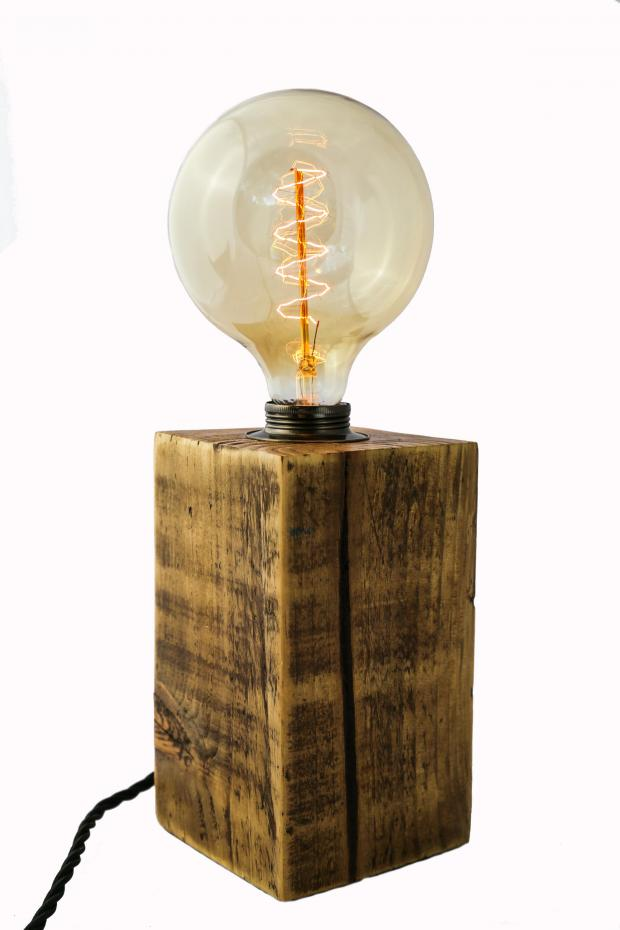Richmond and Twickenham Times: Handmade at Amazon Large Chunky Table Lamp from MooBoo Home, £69.99