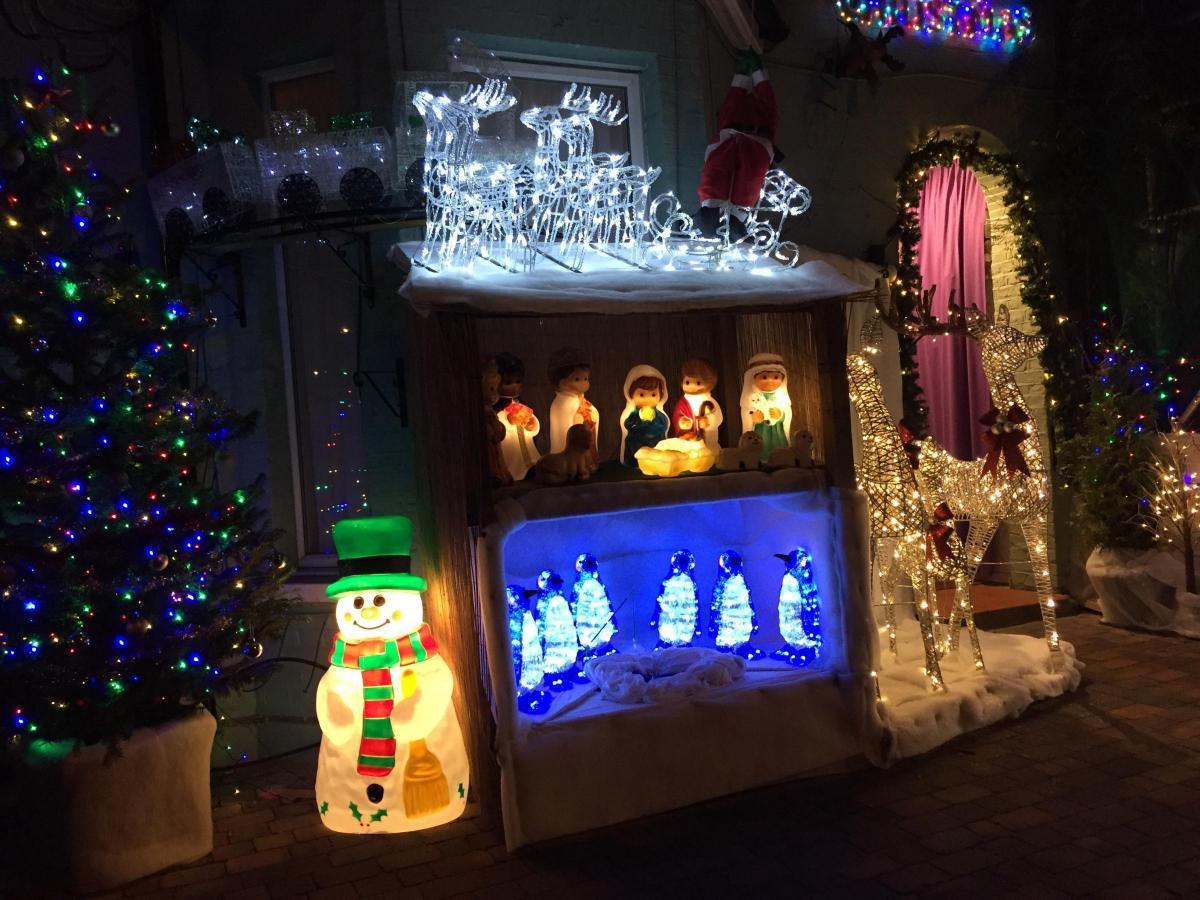 Christmas Lighting Richmond Va.Richmond The Brightest And Best Christmas Light Display We