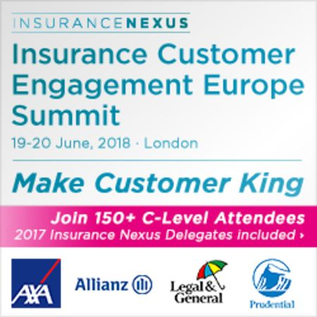 Insurance Customer Engagement Europe Summit 2018, London UK