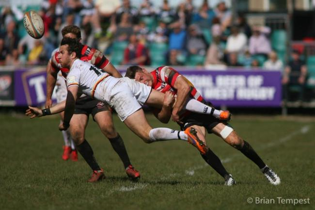 Richmond RFC had a tough time against Cornish Pirates. Picture: Brian Tempest