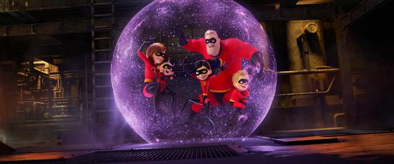 Disney / Pixar The Incredibles 2,  breaks new record!