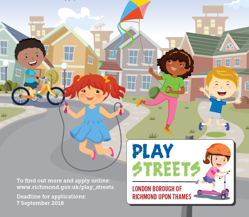 Richmond Council are encouraging residents to close their roads and hold activities to encourage neighbours to come out and play on the streets.