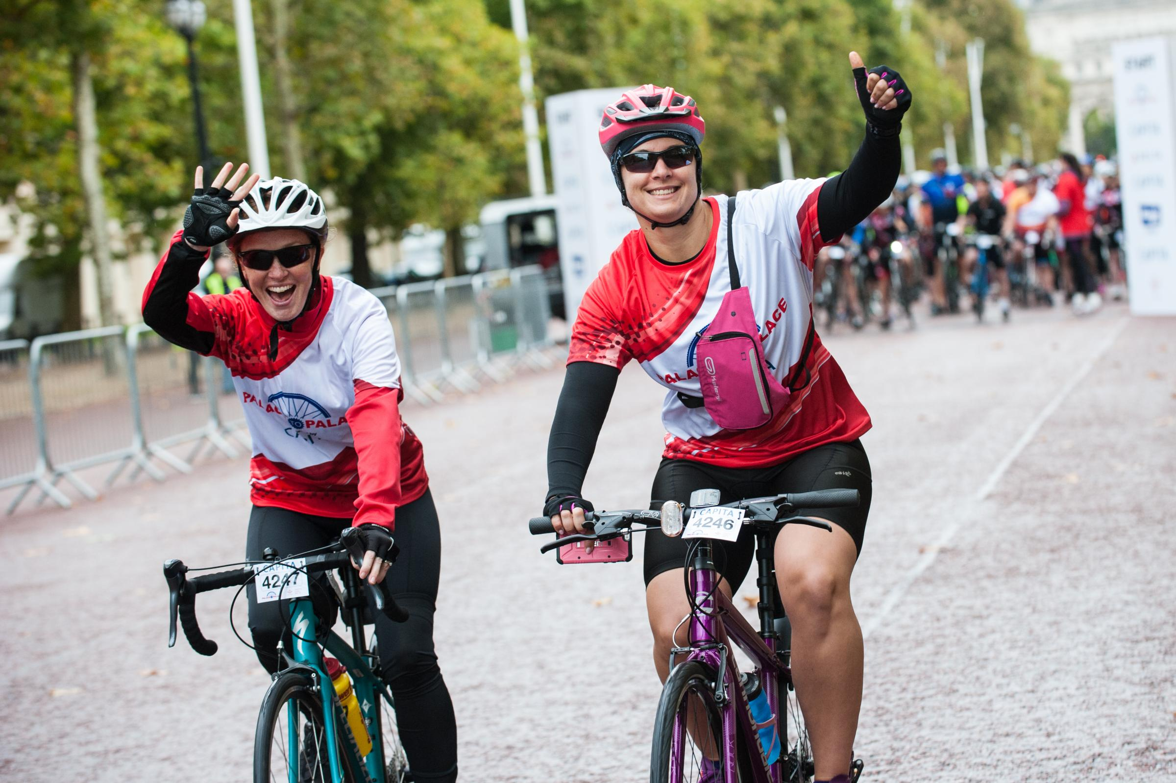The one of a kind route will take riders through London into Richmond and through the Surrey countryside