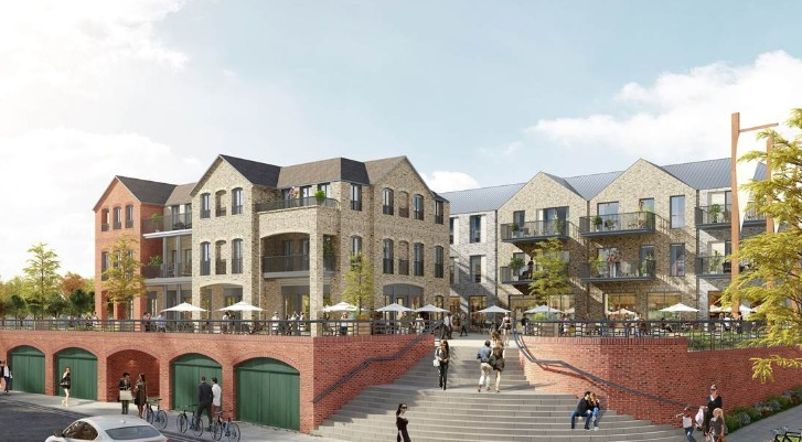 Withdrawn plans to redevelop Twickenham Riverside (CGI is from previous planning application)