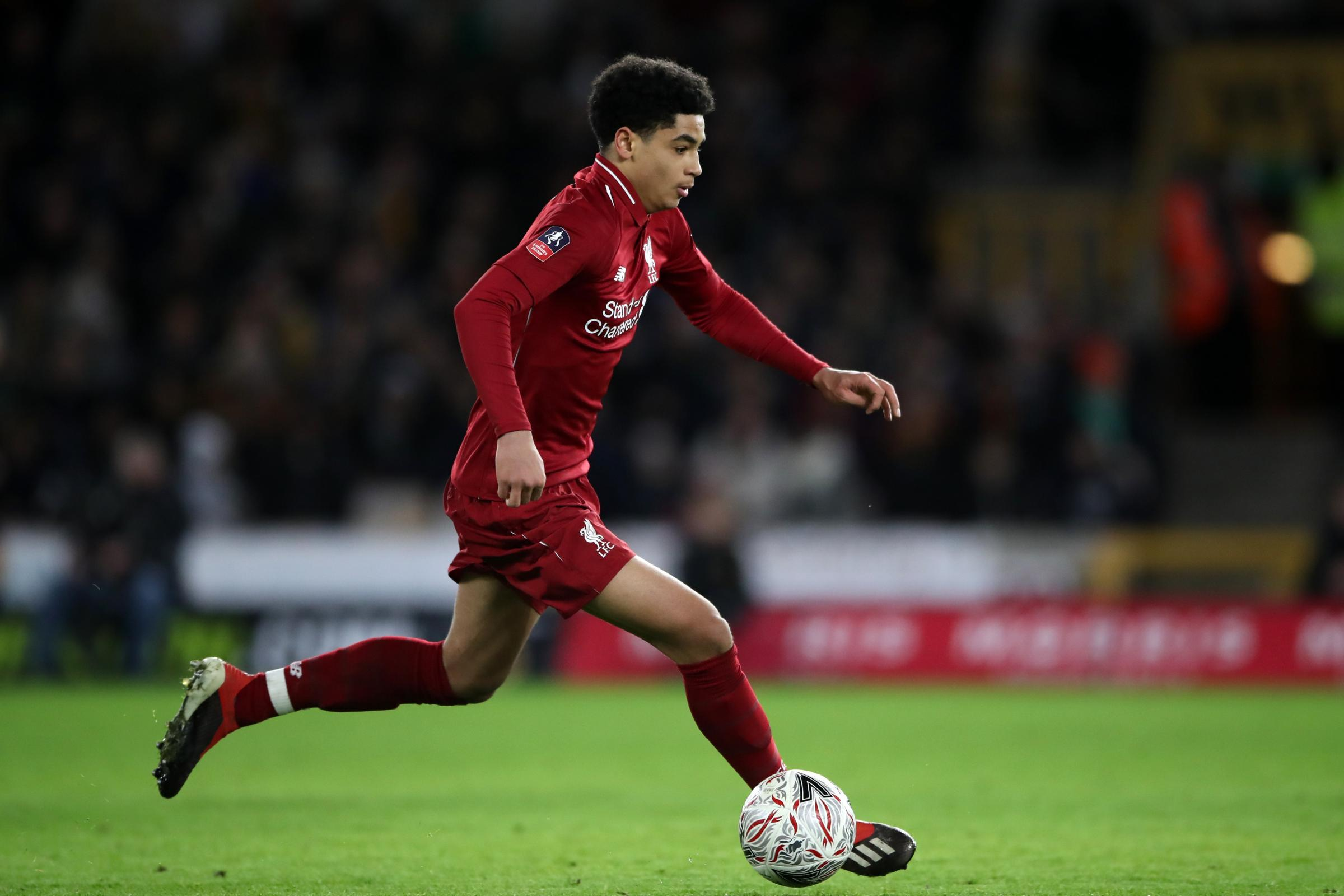 Teenagerr Ki-Jana Hoever has made rapid progress since joining Liverpool in the summer.