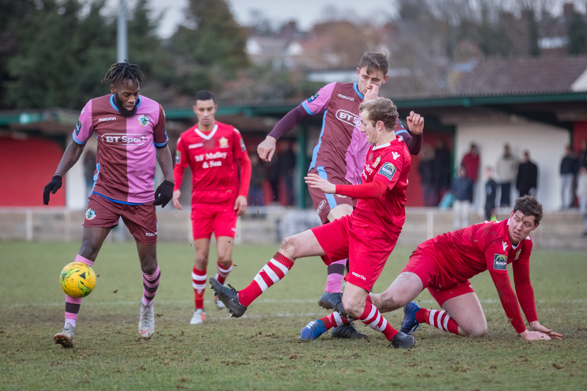Corinthian-Casuals were beaten 3-0 at AFC Hornchurch on Saturday. Picture: Stuart Tree