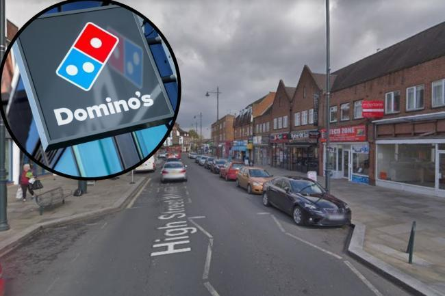 Domino's plans to open in Whitton have been halted over issues with parking.