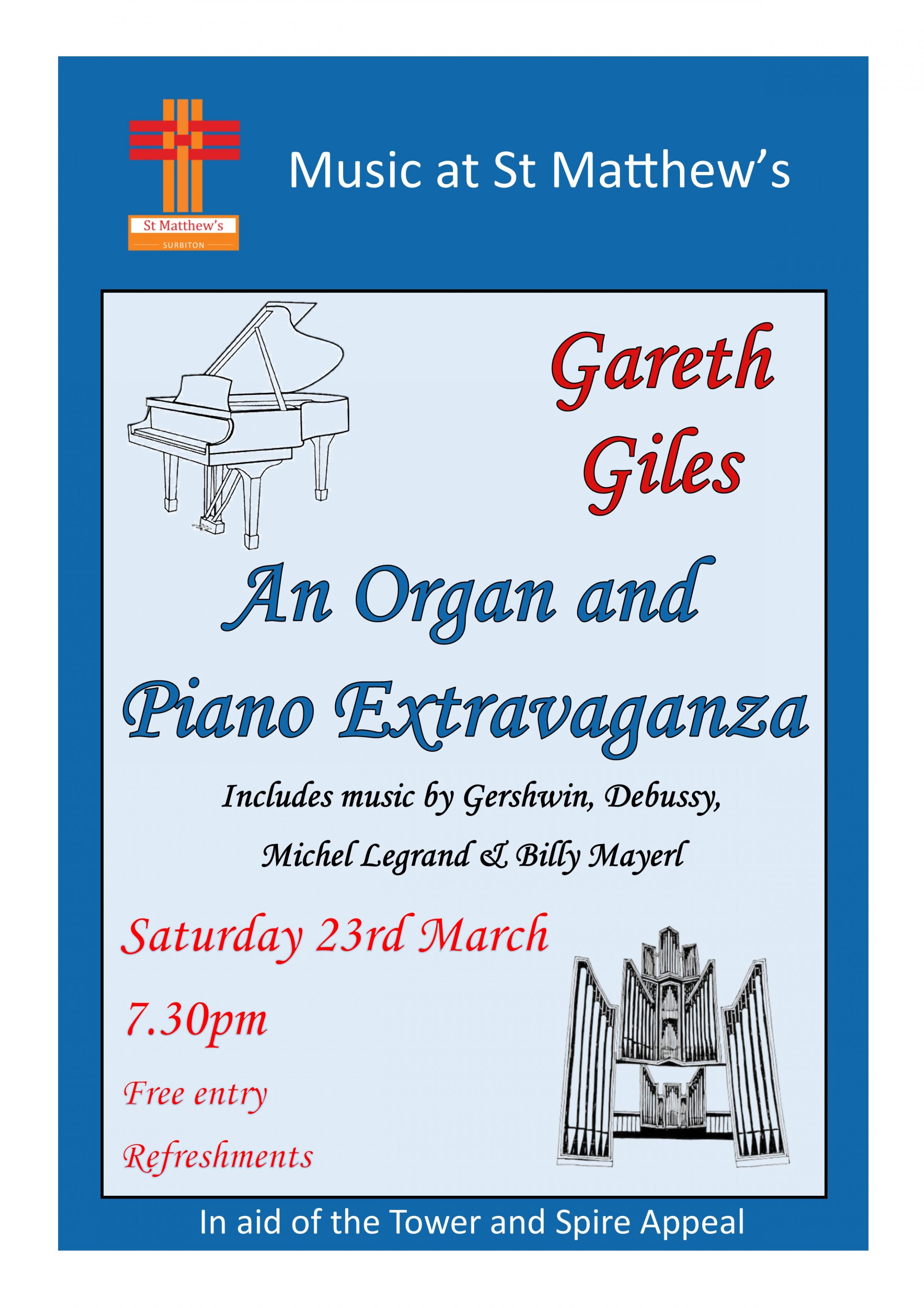 Organ and piano recital