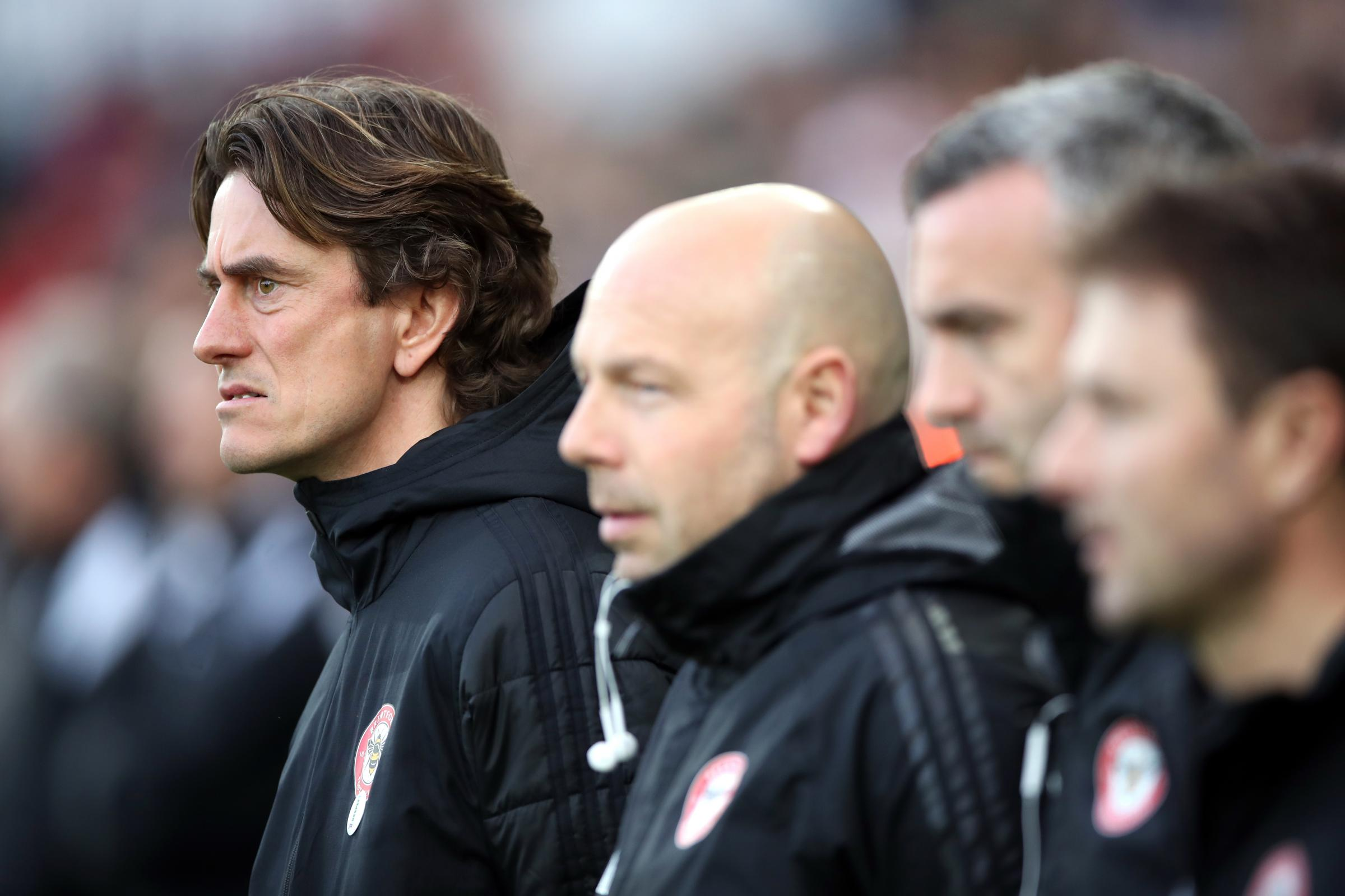 Brentford manager Thomas Frank (PA)