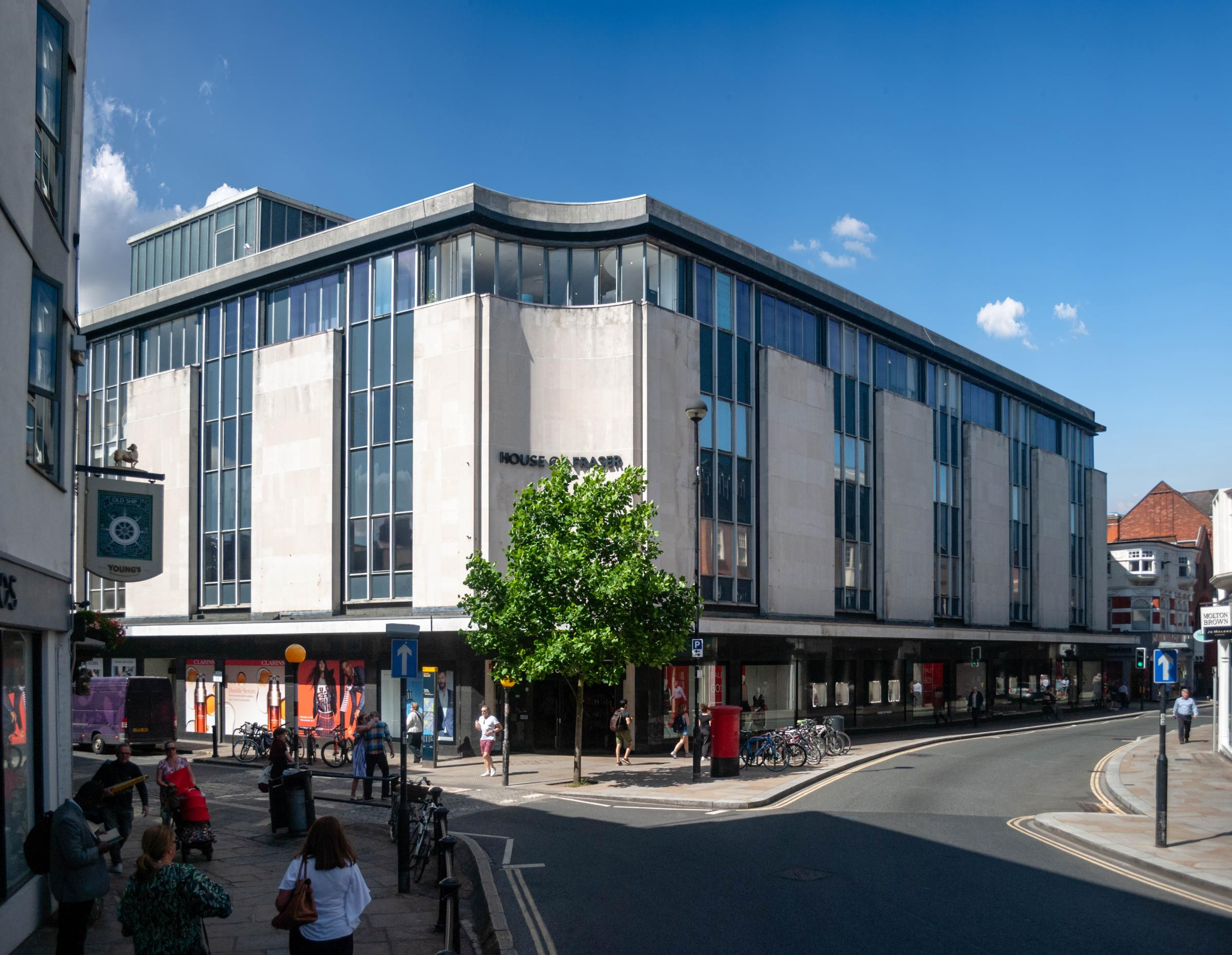 House of Fraser, Richmond - Existing view