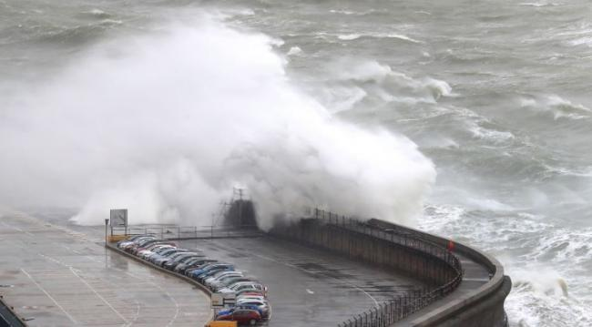 A weather warning has been issued covering the whole of the UK