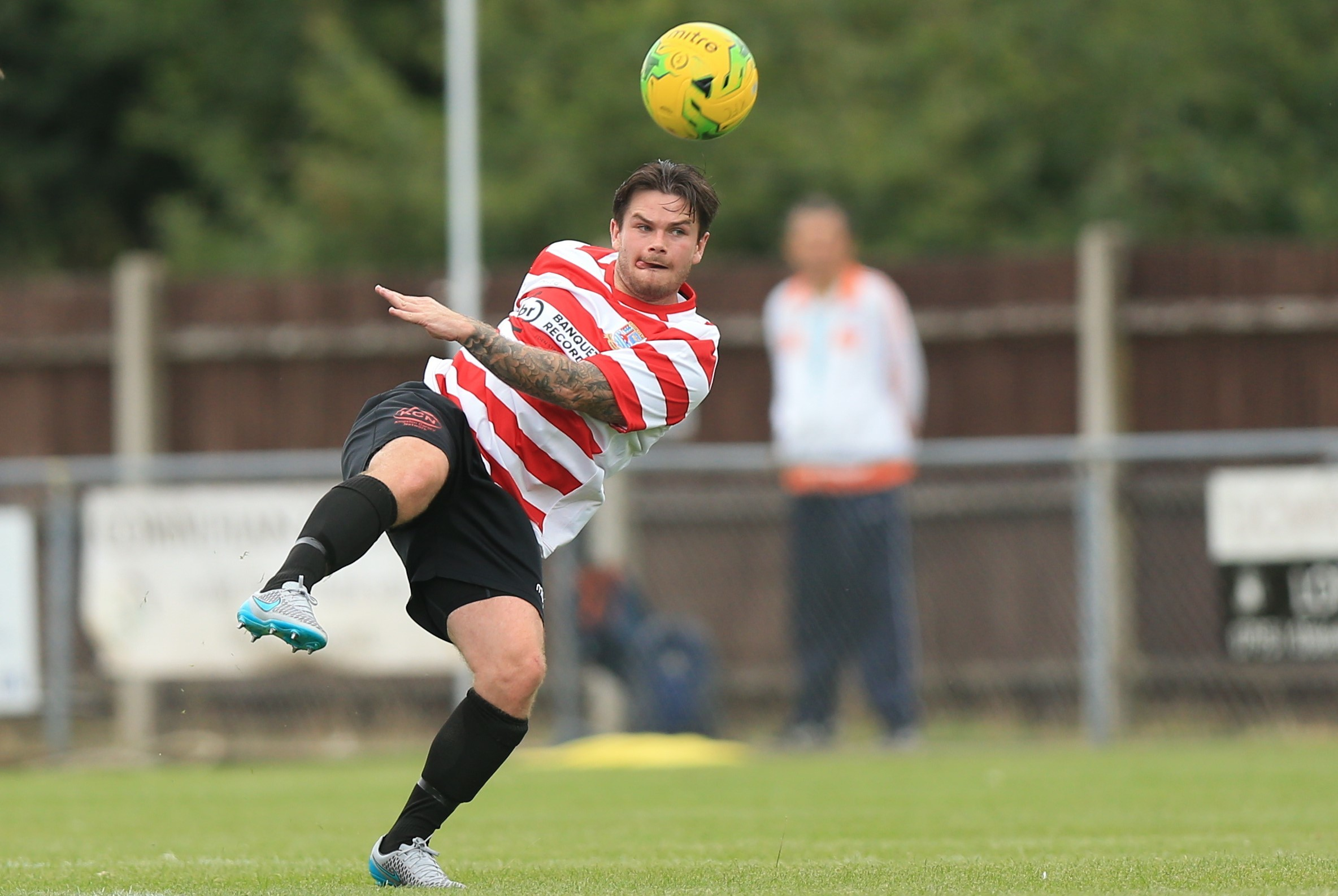 Kingstonian's Aaron Lamont has rediscovered his form in recent weeks