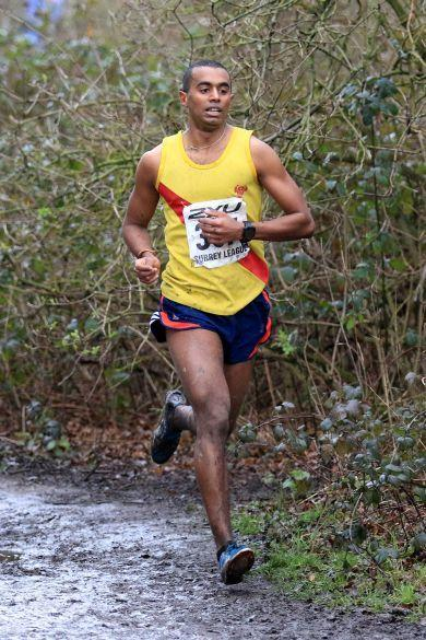 Hercules Wimbledon's Belal Ahmed who is altitude training in preparation for the London Marathon