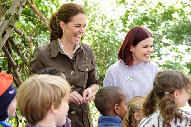 Kate on Blue Peter
